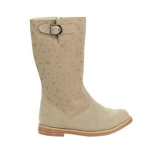 Hanna Andersson Carine 2 Star Boots Driftwood
